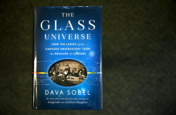 "The cover of ""The Glass Universe,"" by Dava Sobel. (Robin Lubbock/WBUR)"