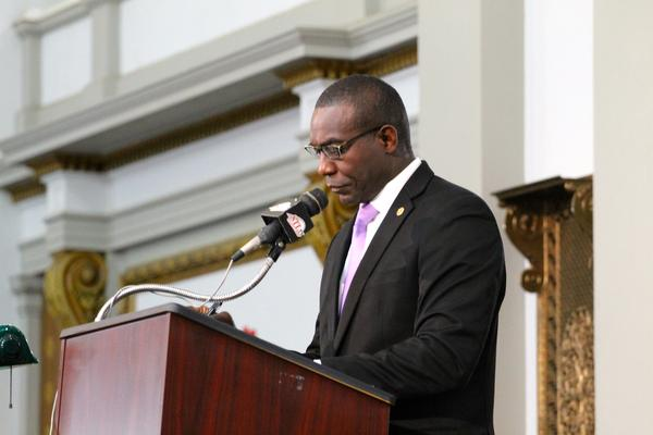St. Louis Board of Aldermen President and Democratic mayoral candidate Lewis Reed