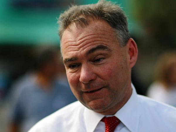 "Tim Kaine, a former Virginia governor and Democratic National Committee chairman, says his ties to President Obama will work both ways in the fall. ""I'm sure the fact that I worked closely with the president is something that some people like and some people don't,"" he says."