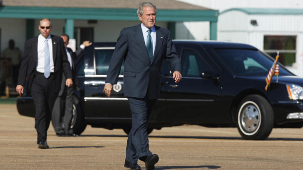 A 2004 case involving the Secret Service made its way to the Supreme Court Wednesday. Demonstrators want to sue for being moved away from then-President George W. Bush.