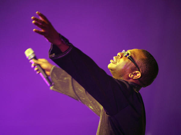 Senegalese superstar singer Youssou N'Dour performs in Lagos, Nigeria in 2009.