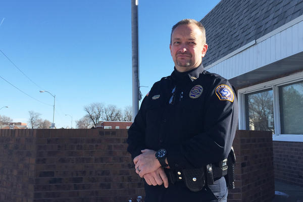 In Sidney, Neb., Police Chief B.J. Wilkinson says there's been a 50 percent increase in marijuana-related offenses in the year since neighboring Colorado legalized the drug.