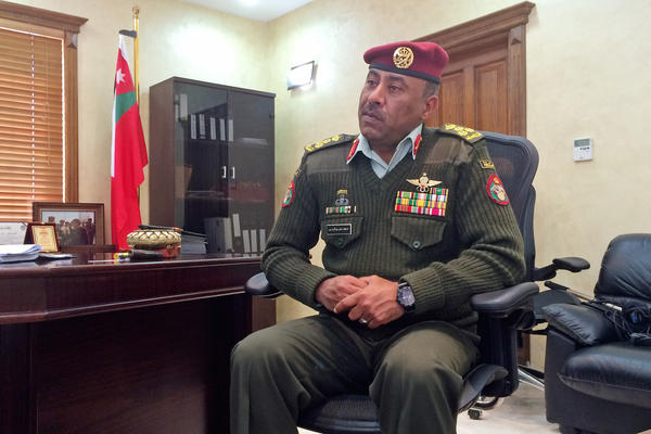 Jordan's Brig. Gen. Aref al-Zaben runs a special operations training center outside Amman. He believes it's inevitable that Jordan and other countries in the anti-ISIS coalition will send in special forces at some point to fight the extremist group.