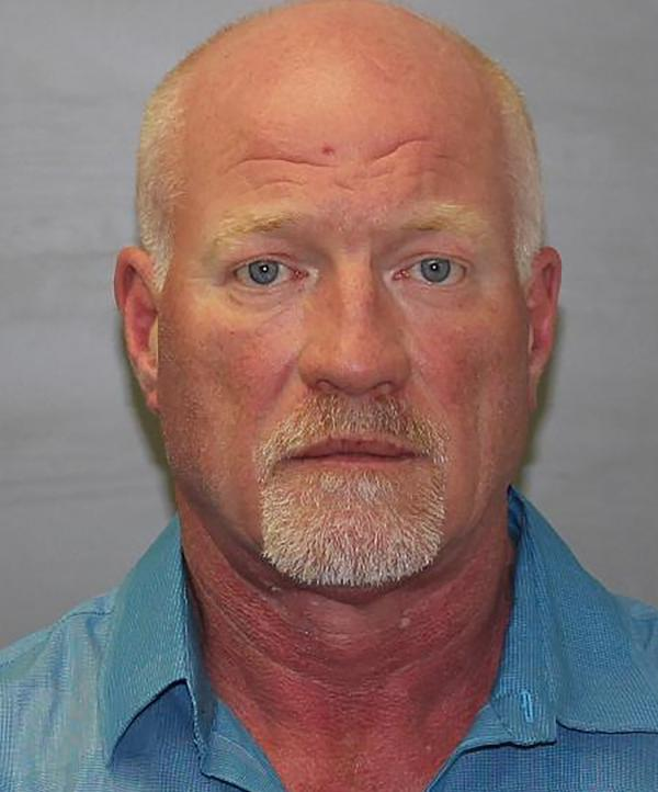Clinton Correctional Facility officer Gene Palmer, 57, is seen in a picture released by the New York State Police. Palmer was arrested on Wednesday in connection with the escape of two convicted murderers who have eluded a massive manhunt for almost three weeks, police said.