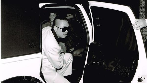 Filmmaker Christopher Lee attends a 1999 film festival.