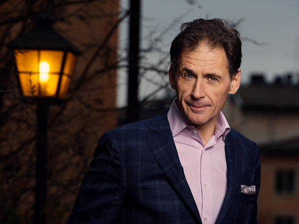 Larsson's father and brother hired David Lagercrantz to write the new book, <em>The Girl in the Spider's Web.</em>