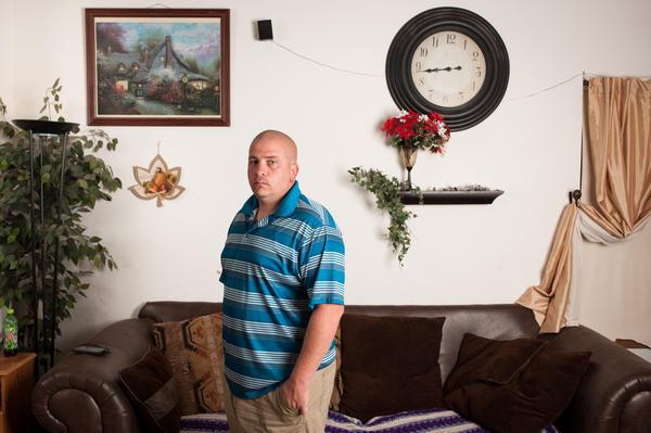 James Vanni, at his home in Colorado Springs, Colo.