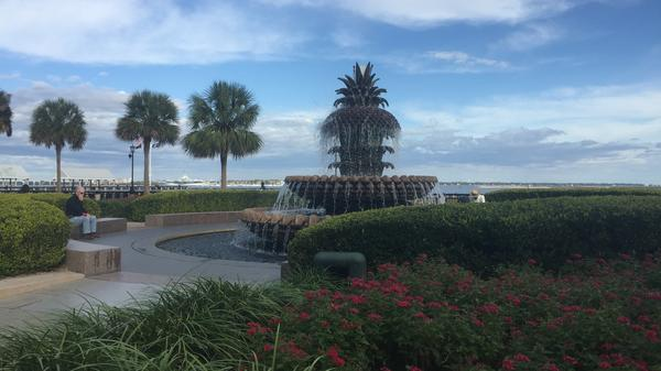 Mayor Riley helped create Waterfront Park in Charleston, S.C.