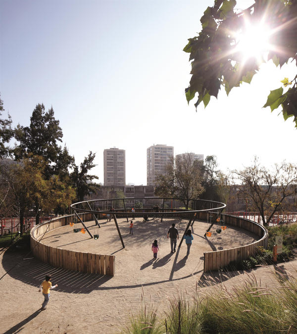<strong>Bicentennial Children's Park, Santiago, Chile, 2012: </strong>Built into a hillside, this 10-acre park was designed in celebration of Chile's bicentennial.