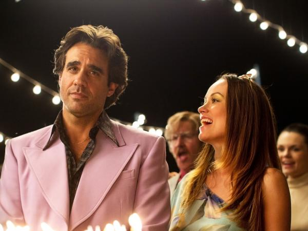 Bobby Cannavale and Olivia Wilde in the HBO series <em>Vinyl</em>.