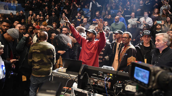 Kanye West premiered <em>The Life Of Pablo</em> in only the way Kanye West could: at his Madison Square Garden fashion show.