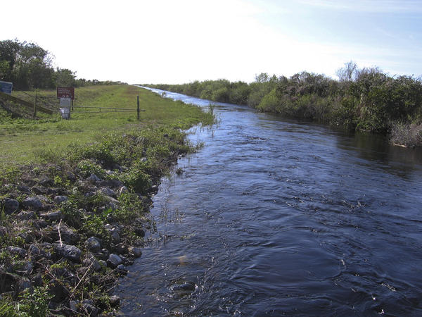 "This is one of several canals that will be filled to slow the movement of water through the Everglades, restoring an ecosystem environmentalist Marjory Stoneman Douglas called the ""river of grass.""€"