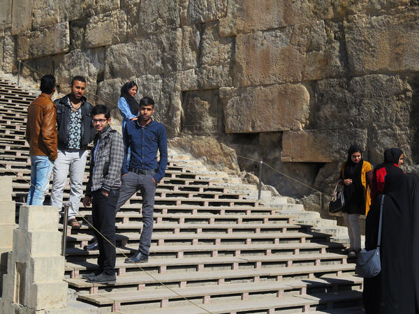 Persepolis, near the ancient city of Shiraz, is a top destination for Iranian tourists. The country hopes to attract more foreign tourists.