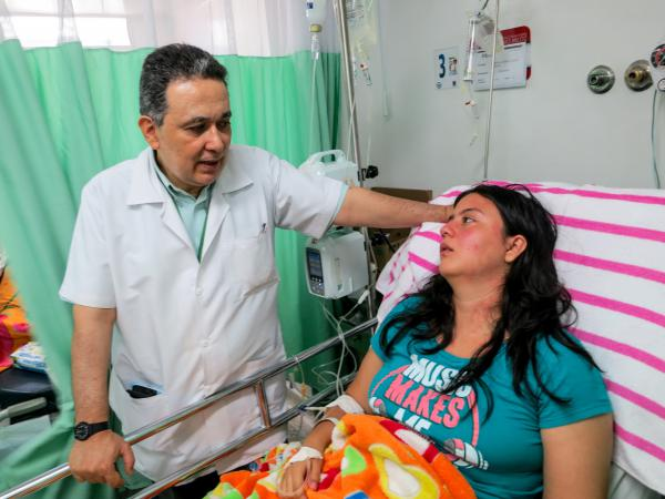 The 25-year-old woman has Guillain-Barre syndrome and is hospitalized in Cucuta, Colombia. Dr. Jairo Lizarazo will collect samples from the patient to send to a lab in Cali, hoping to prove a link to the Zika virus.