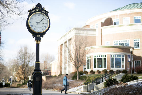 Marietta College has one of the best petroleum engineering programs in the country.