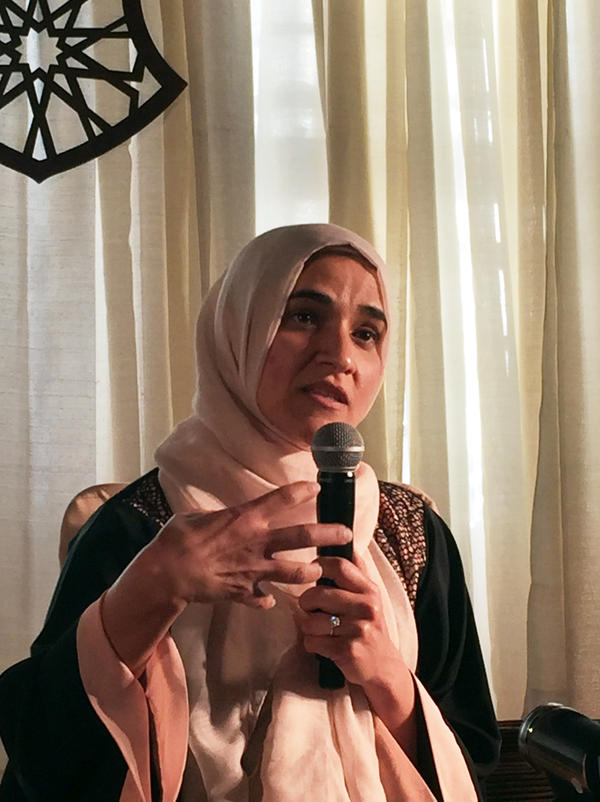 Dalia Mogahed, a guest speaker, says that the story of Muhammad reaching out to the Jews of Medina has important lessons for how Muslims in America should relate to a diverse society.