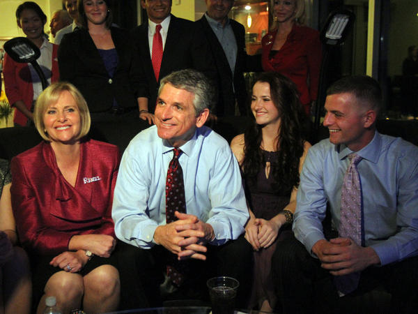 Retiring Rep. Scott Rigell, R-Va. — seen here awaiting election results on Nov. 2, 2010 — says he wants to continue work in his soon-to-be-private life to inject more civility in American politics.