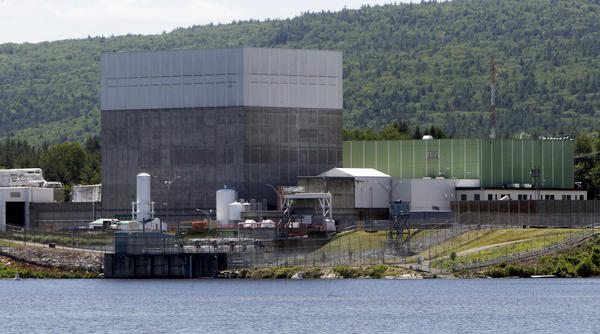 The Vermont Yankee nuclear power plant sits along the banks of the Connecticut River in Vernon, Vt. It began operations in 1972 and was shut down at the end of 2014, the victim of competition from plants powered by abundant and cheap natural gas.