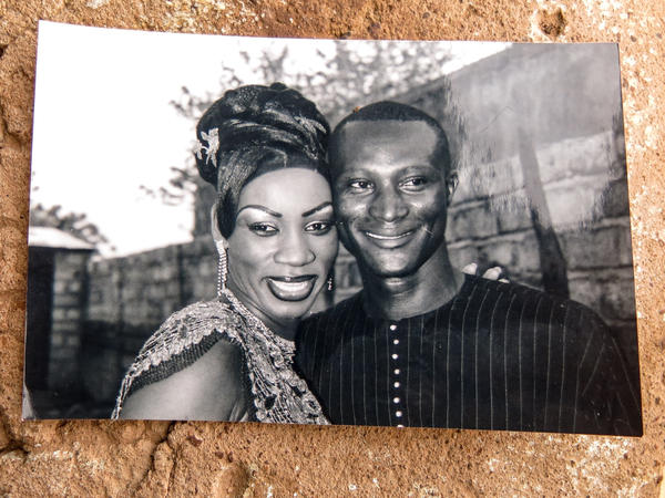 Aissatou Sanogo and her late husband, Souleymane Diaby.