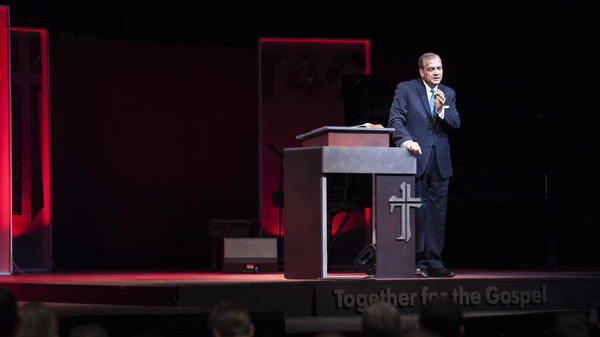"Albert Mohler, president of the Southern Baptist Theological Seminary, is urging conservatives to put the ""protest"" back in Protestantism."