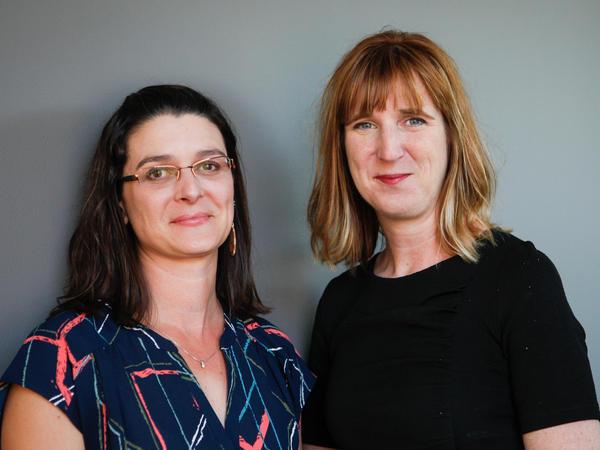 Drs. Tessa Hill and Jessica Hellmann