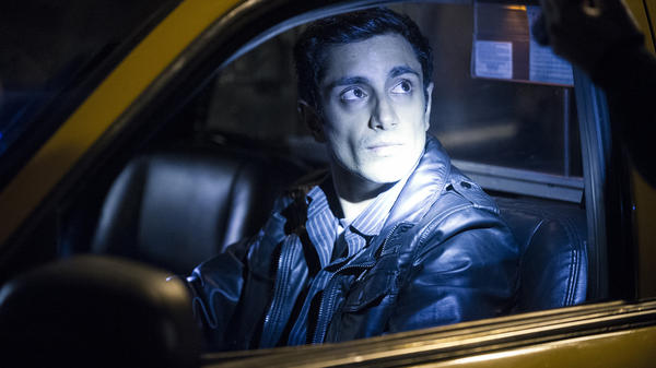 British actor Riz Ahmed plays college student Naz as a wide-eyed innocent whose world unravels after a beautiful stranger climbs into his car.