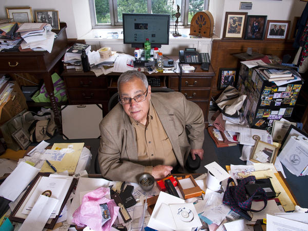 David Margolis at his desk in June 2015.