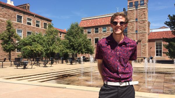 """It really wasn't a matter of switching from Sen. Sanders to Secretary Clinton; it was a matter of being a Democrat,"" said Spencer Carnes, who heads campus outreach efforts for the Colorado Democrats and is now campaigning for Clinton. ""I've been a Democrat since 2004, when I was in fifth grade."""