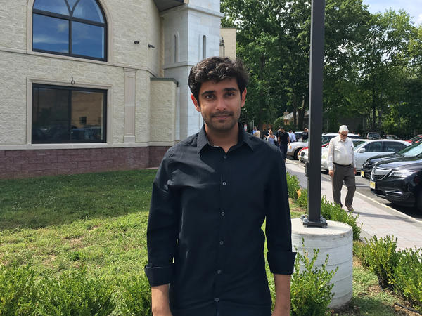Shariq Ahmad is one of the organizers of the New Jersey Muslim Voters Project.