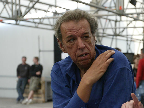 "Rod Temperton backstage during rehearsals for the ""We are the Future"" all-star humanitarian concert, May 15, 2004 at Circus Maximus in Rome, Italy."