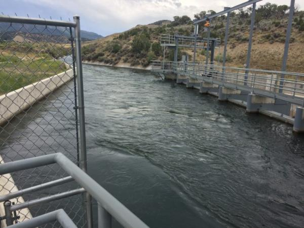 The Delta Montrose Electric Association outside Montrose, Colorado, developed micro-hydro power plants in partnership with local water users.