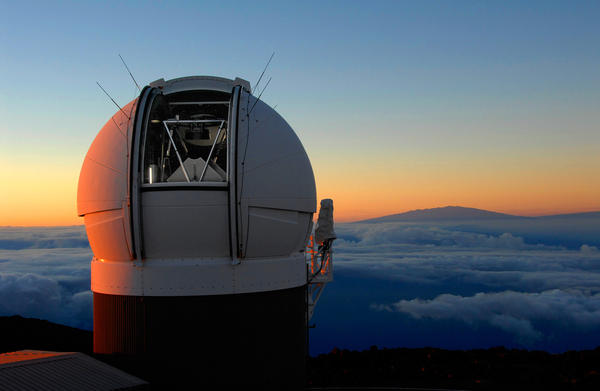 A telescope in Hawaii first spotted an errant rock headed toward Earth. The Scout program quickly flagged it for follow-up observations.