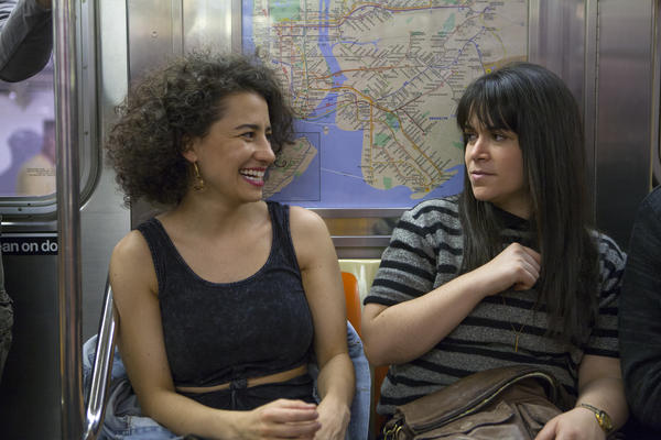 Ilana (Ilana Glazer) and Abbi (Abbi Jacobson) routinely take the subway in <em>Broad City. </em>But public transit hasn't always been featured so prominently on television.