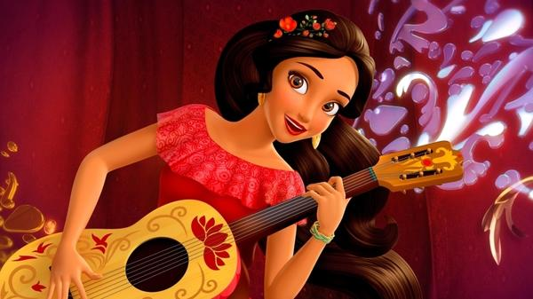 Elena of Avalor is Disney's first Latina princess. Her show features music drawn from all over Central and South America.