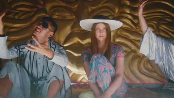 "A still from Lydia Ainsworth's ""The Road"" video."