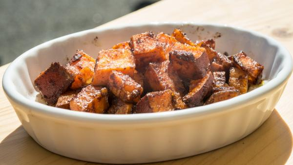 Sweet potato consumption in the U.S. nearly doubled over 15  years, from about 4 pounds per person in 2000.
