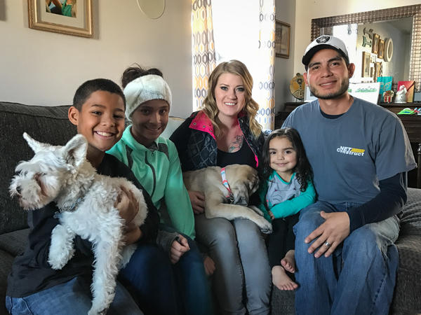 Anna and Luis Oropeza settled in a home on the western edge of Coeur 'd Alene and are raising two African-American foster kids and a Latina child.