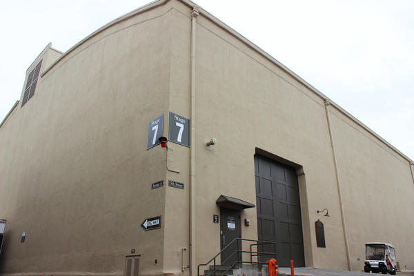 Stage 7, a giant soundstage on the Warner Bros. studio lot, was home to many classic films and is still in use today.