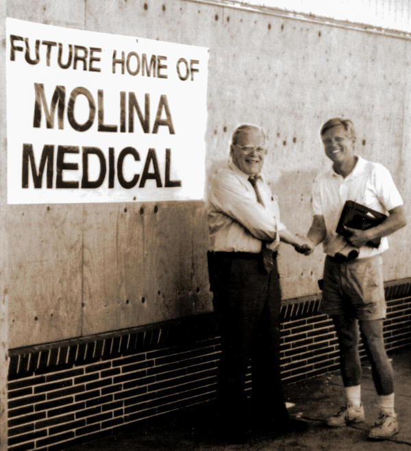 The system of medical clinics Dr. David Molina (left) founded in Long Beach, Calif., in 1980 grew to become an insurance network that now stretches across 12 states and Puerto Rico.