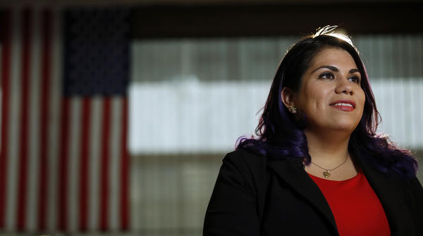 Astrid Silva delivered a Democratic response in Spanish to President Trump's first speech to a joint session of Congress on Tuesday.