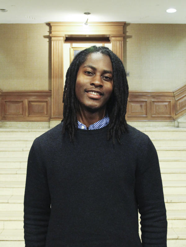 """When you have Rhodes scholar on your resume, people tend to make a lot of assumptions about your competence and intelligence and wisdom,"" senior Cameron Clarke says, ""that they might not ordinarily make if you were just any other black guy with dread locks that passed in your resume."""