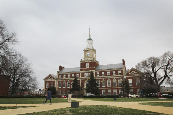 Howard University's Founders Library in 2017.