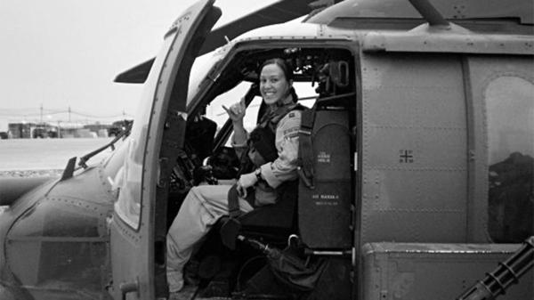 Maj. Mary Jennings Hegar served three tours in Afghanistan. She now lives in Austin, Texas, and works as an executive coach and consultant.