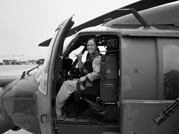 Maj. Mary Jennings Hegar served three tours in Afghanistan.