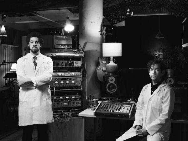 Brian Burton and Sam Cohen, musical creators for 'Resistance Radio'