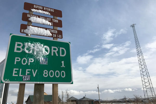 Buford, Wyo. is known as the smallest town in the U.S.
