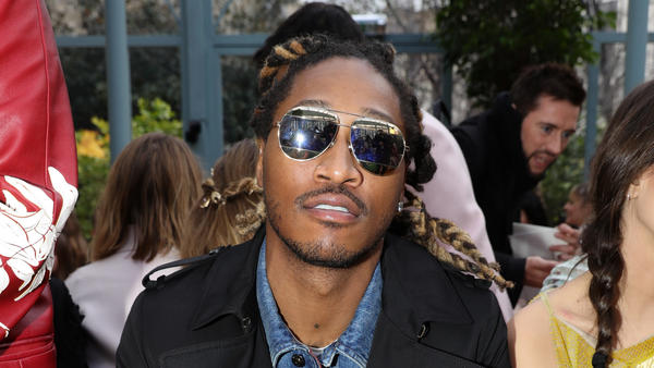 Future in Paris on March 5, 2017 during Fashion Week.