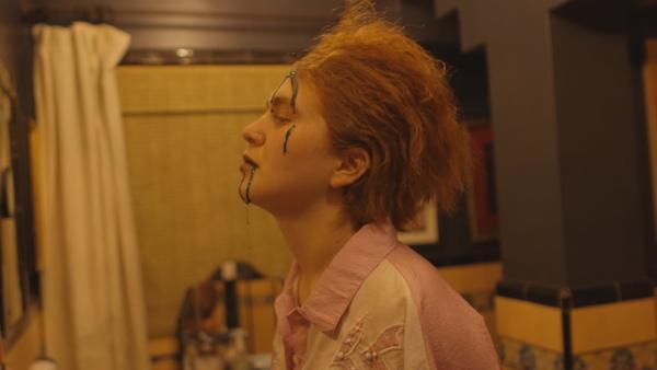 "A still from Girlpool's ""123"" video."