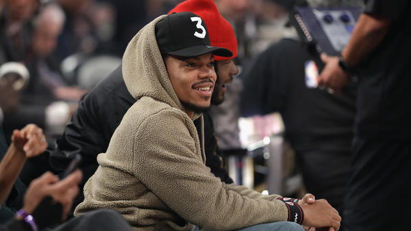 Chance The Rapper, who held a press conference today announcing a $1 million donation to Chicago Public Schools.