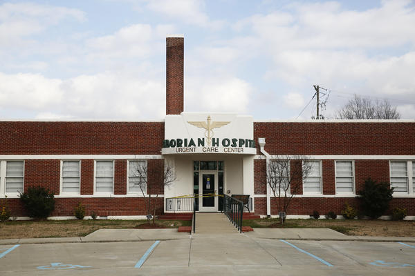 Taborian Hospital opened in 1942, serving blacks from all over the Delta. It is now closed.